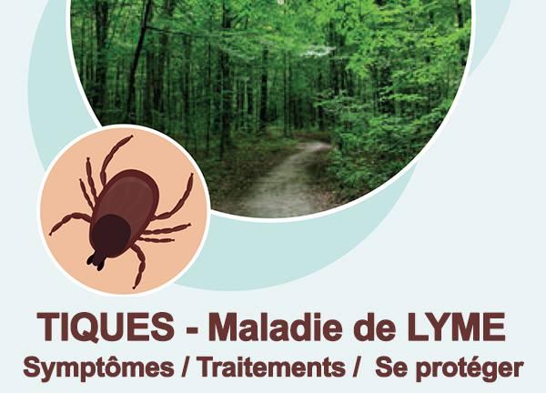 Piqûre de tique et maladie de Lyme